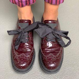 PRADA never worn Oxblood Loafers